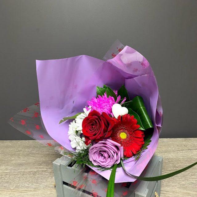Bouquet couleur de l'amour