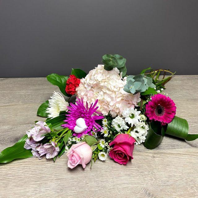 Bouquet, Création de la fleuriste